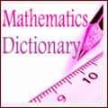 Math dictionary icon